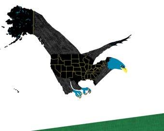 Postcard - American Bald Eagle