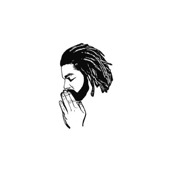 praying rasta religious spiritualpositivity dreadlock svg