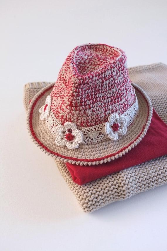 8261d0f0e9d Infant Girls Fedora Hat Tweed Baby Fedora Baby Girl Fedora
