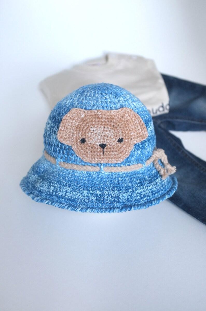 d81b51e545e20 Baby Sun Hat Toddler Baby Crochet Summer Hat Infant Beach Hat