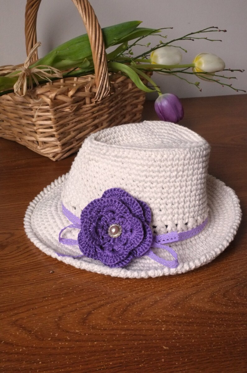 Wide Brimmed Baby Girl Fedora Hat Off White Baby Girl Shower  5e94883a4766
