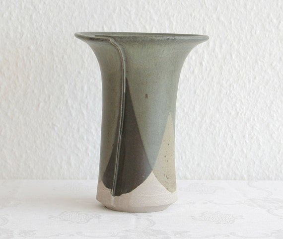 Wurtz Ceramics Contemporary Vase Danish Design Stoneware Etsy