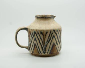 NIS STOUGAARD Jug Abstract Ceramics Danish Design Bornholm Denmark Decoration Art Pottery Mid Century Modern Svaneke mcm Vase