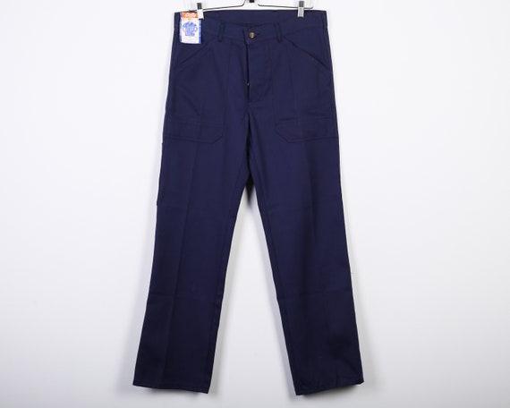 Brand new 80's Sanfor French Worker Men's W34 L32