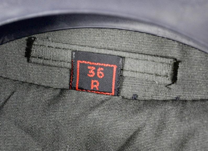 warm removable lining US 36R Cotton Polyester blend Jacket Mac XS S Coat Warm Uk 36 Eu 46 Overcoat KORATRON Vintage Men Rain trench coat