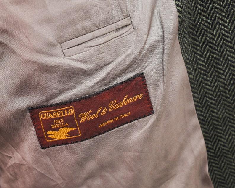 HUGO BOSS Men/'s UK 44L Blazer Eu 54L Cashmere Wool Tweed Jacket Coat Vintage De 110 Luxus Coat Jacket Car Mod Style 90/'s Retro 1v