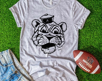 0decf7cdf Auburn Tshirt - Auburn Alabama Tee - Game Day Apparel - Aubie Tiger - Auburn  Art - War Eagle - Collegiate Tee
