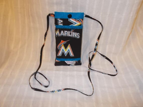MLB - Miami Marlins Phone Case - Quilted Fully Lined
