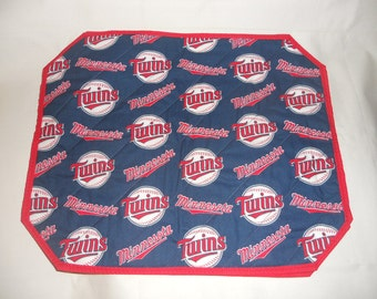 Minnesota Twins Print Placemats Set of 2 or 4