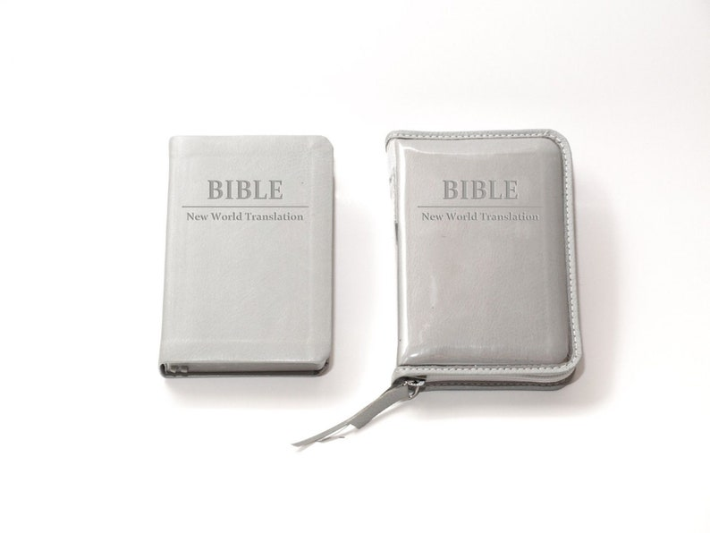 SMALL Bible Cover for Jehovah's Witnesses New World image 0