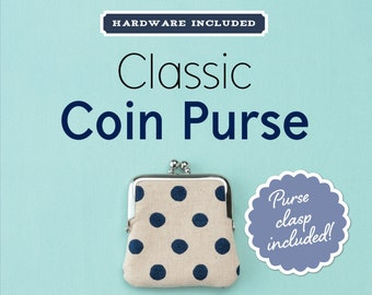 Classic Coin Purse Kit with Rose Gold Clasp #ZW6332