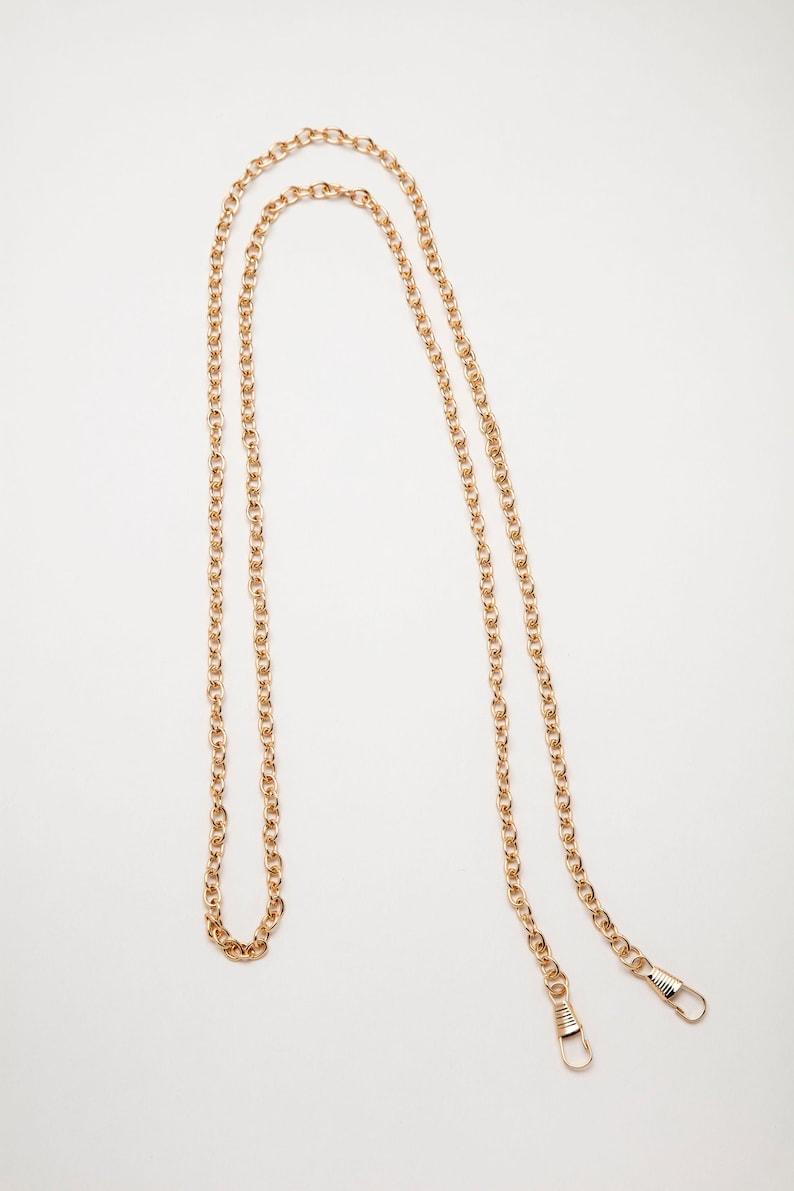 Rose Gold 47 Purse Chain #ZW6172