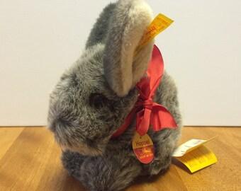 3b82e4b4fed6a Steiff Plush Rabbit - Stuffed Bunny Toy - Collectible Plush Animals - German