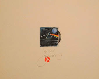 DARK SIDE of the MOON.  A miniature of a vintage record cover