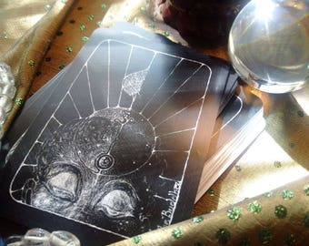 NEW REVELATION TAROT  9 new cards (plus instructions, bag and and cloth)