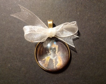 THE YOUNG BUDDHA - a pendant from one of my miniatures