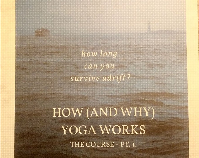 HOW (and why) YOGA WORKS pt.1 This is Part 1 of a three part series explaining not just how to do yoga.