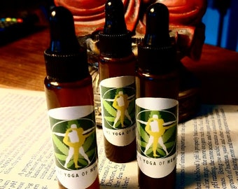 The Yoga of Hemp oil.  To relieve and relax muscular and joint pain encourage healing on every level.