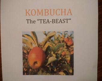 "KOMBUCHA ""The Tea beast"""