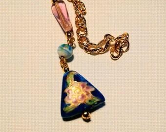 POCKET PENDULUM:  An indispensable  glass pocket pendulum (friend) for everyday divination