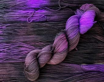 Artisan Indie Hand Dyed SW Sock Yarn 4 ply Whisper 100g Fearless Yarn