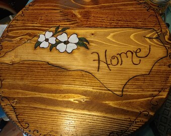 NC HOME Handmade 15in Lazy Susan Spinner