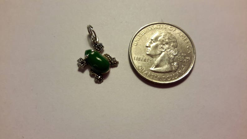 Vintage Sterling Frog Charm ~ Green Enamel Marcasite Frog ~ Frog Prince Charm ~ Frog Bracelet Charm ~ Frog Pendant Charm ~ 3 Dimensional