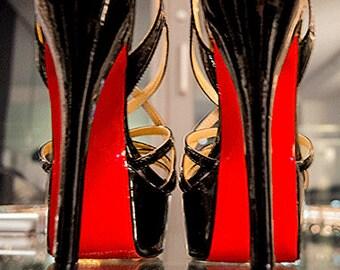 2739d21106ab Red Shoe Sole Kit - DIY Red Bottom - Slip Resistant Shoe Bottom Cover for  Women s Heels