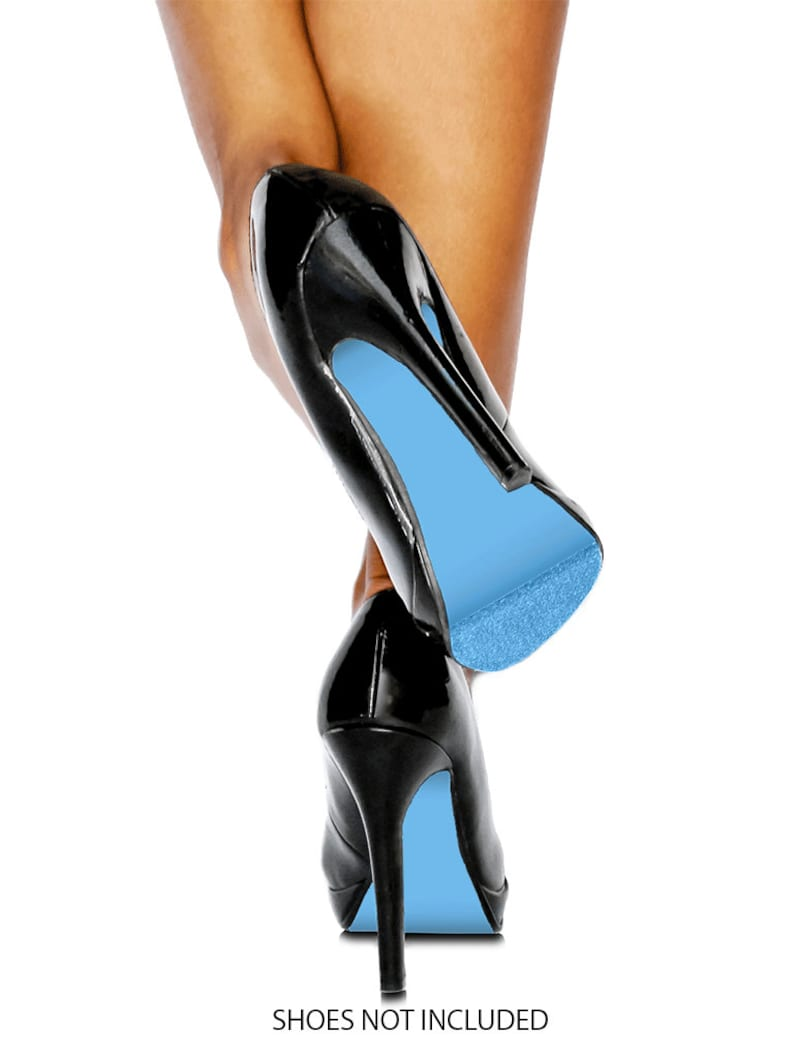 f4ceaa688e1e Sky Blue Shoe Sole Kit - Slip Resistant Shoe Bottom Cover for Women s Heels  - Renew Your Shoe