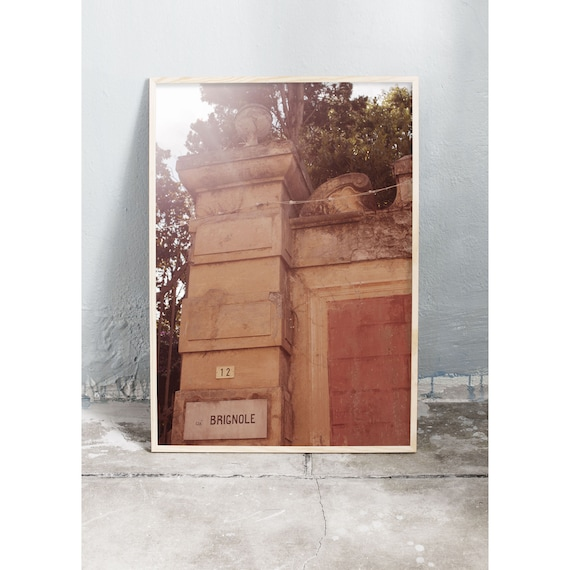 Photography art print from Sestri Levante, Italy. Printed on high quality, matte paper.