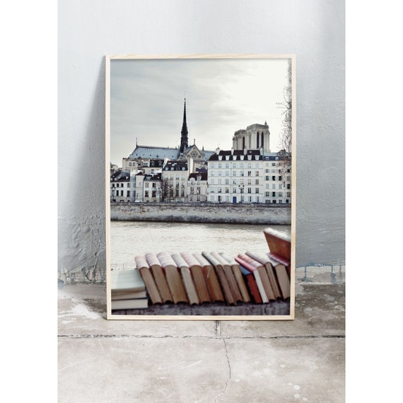 Photography art print of Paris. Print is printed on a high quality, matte paper.