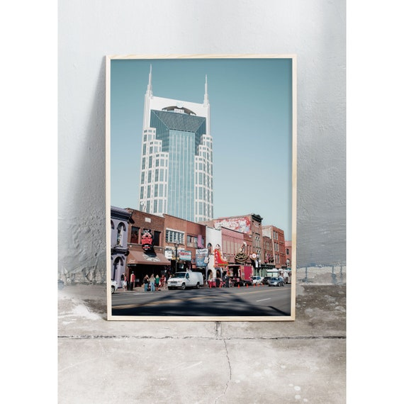 Photography art print from Nashville. Printed on high quality, matte paper.