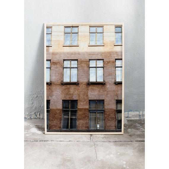 Photography print of brown, old building in Copenhagen , Denmark.