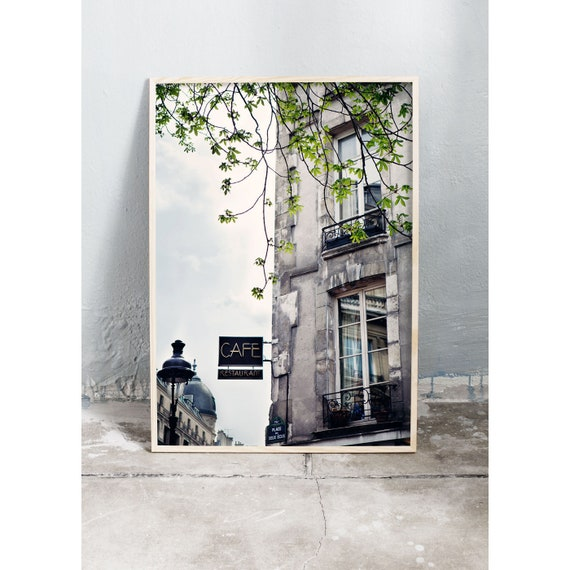 Photography Print, Paris, Building Print, Paris Wall Art, Home Decor, Paris, France, Wall Art, Photography, Architecture Photo, Art, Gray