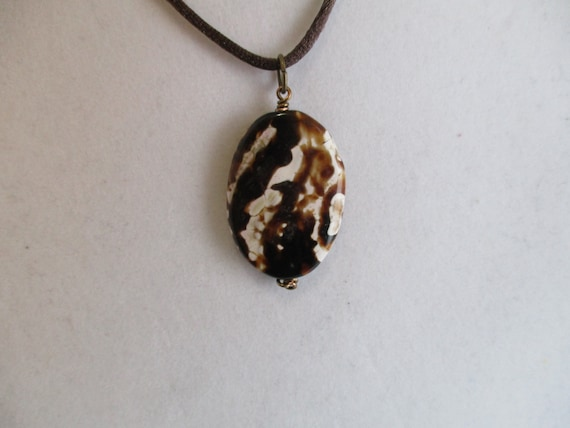 Agate Pendant Necklace N6151712