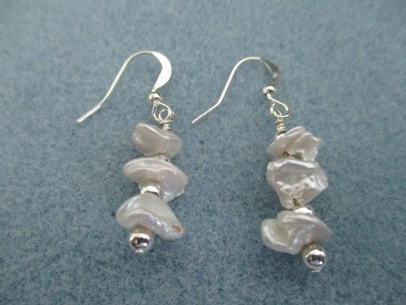 Keishi Pearl Earrings E6161715