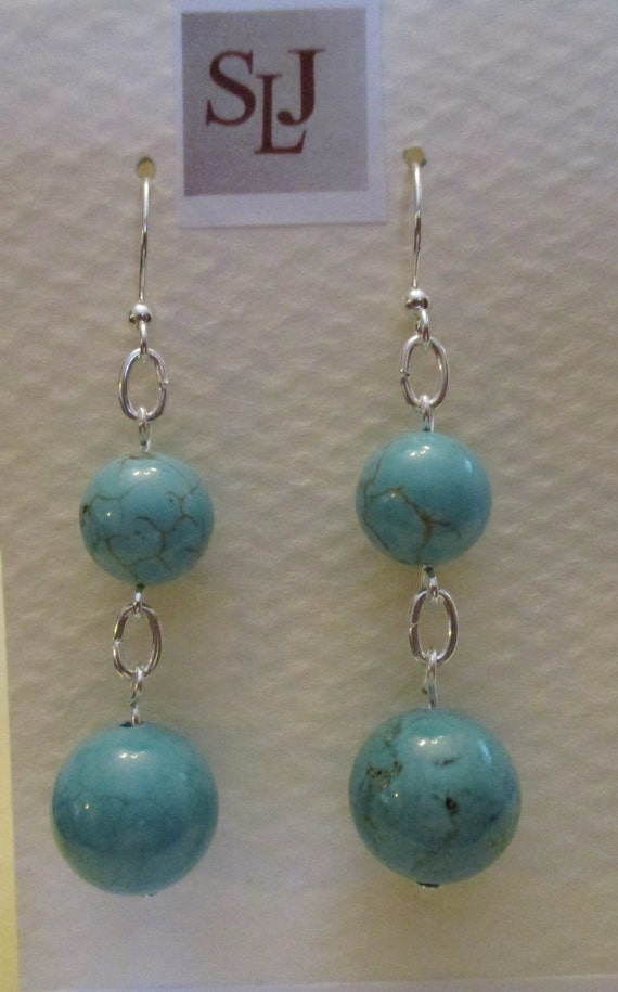 Magnesite Earrings E6151765