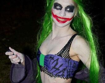 Joker Bra Etsy