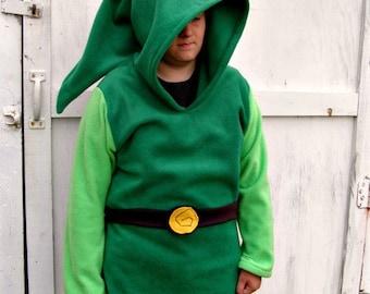 LINK Wind Waker Tunic hoodie costume Cosplay Legend of Zelda