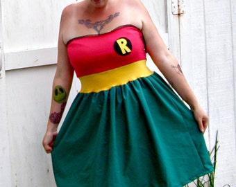 retro Robin dress costume party Cosplay New Sexy Sidekick