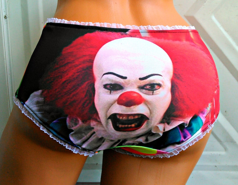 964e6eec4 Pennywise the Clown inspired Panties Lingerie underwear Neon