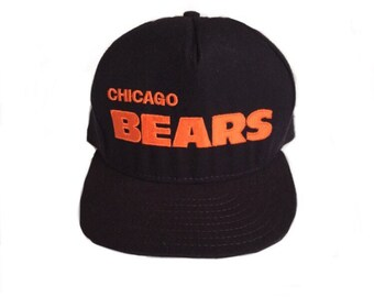 ... where to buy vintage 90s chicago bears nfl football ajd snapback hat  block letter spell out 1e0d2364f08f