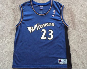 c7339592 Vintage CHAMPION MJ Michael Jordan 23 throwback jersey size 40 M men's  unisex adult nba basketball 90's washington wizards