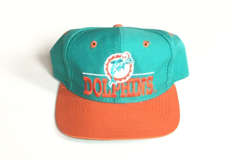 d338096b785 90s MIAMI dolphins the game Snapback Snap back Strapback hat
