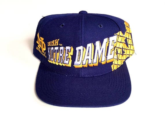 official photos 41739 7f710 Vintage Notre Dame Fighting Irish sports specialties snapback   Etsy