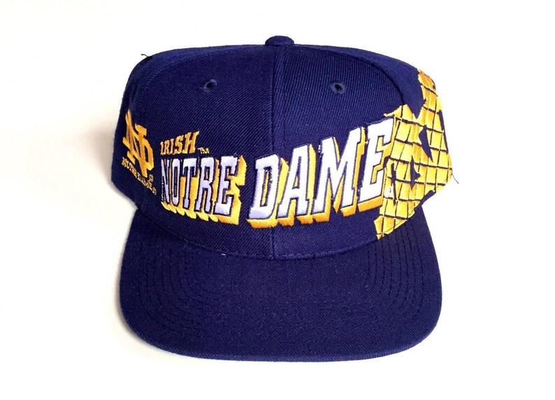 bafe5944 Vintage Notre Dame Fighting Irish sports specialties snapback | Etsy