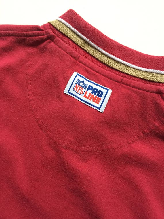 e9d496d94 90s REEBOK San Francisco 49ers nfl football button up polo
