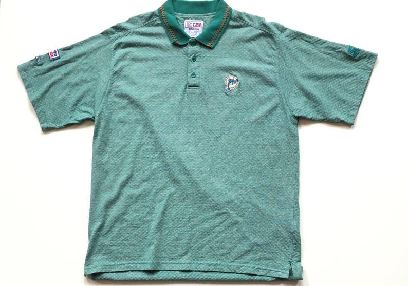 0ba8a8f0 Vintage Miami Dolphins nfl Football STARTER Short Sleeve | Etsy