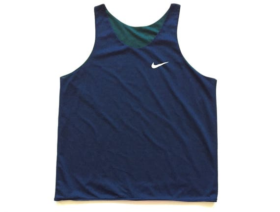 2ebb4258e0a2fb 90s reversible nike tank top vintage perforated nike jersey
