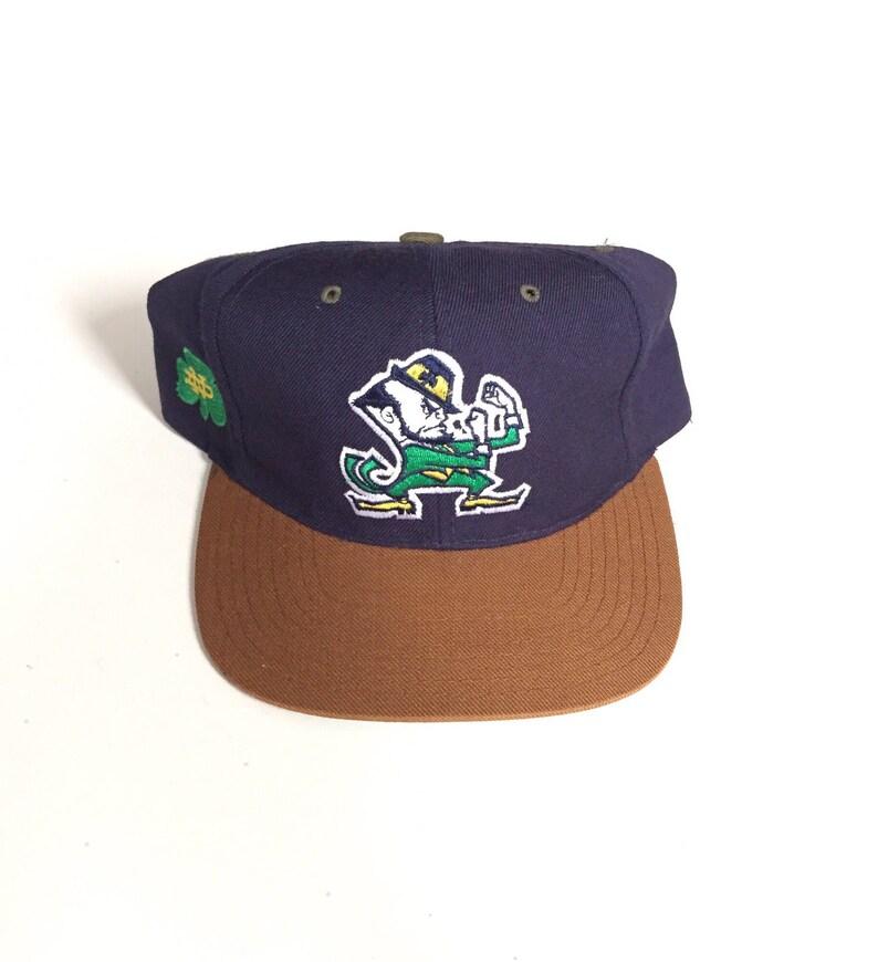 brand new 9f879 6af0f Vintage University Of Notre Dame Fighting Irish American   Etsy
